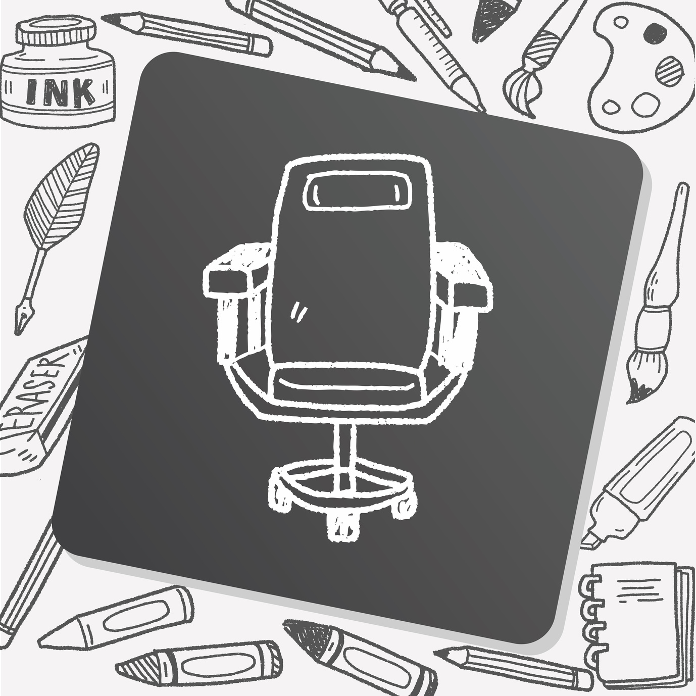 chair doodle