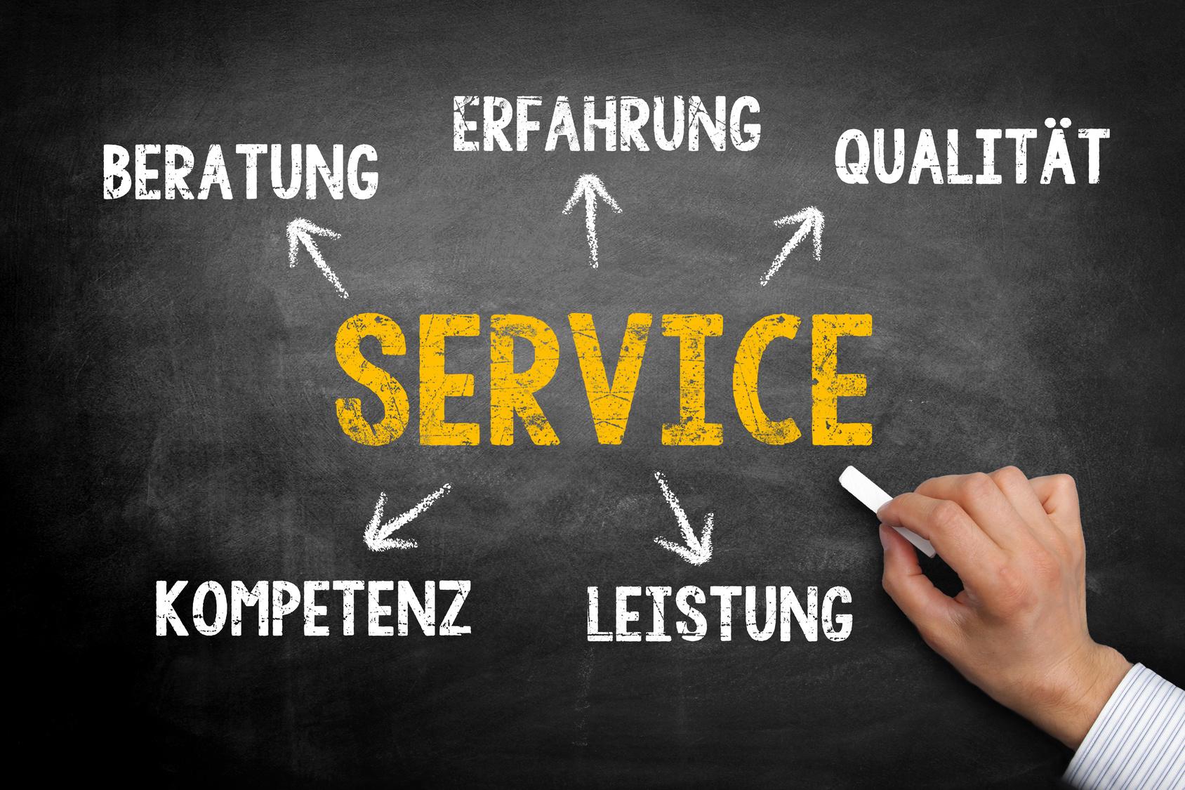 Service - Konzept